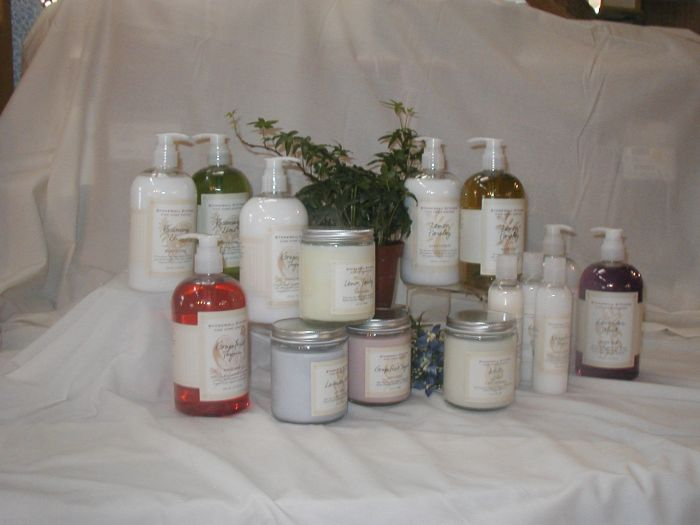 Stonewall Soy Candles and Lotions